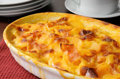 Au Gratin Potatoes Royalty Free Stock Images