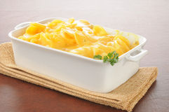 Au gratin potatoes Royalty Free Stock Images