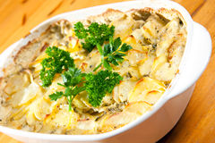Au gratin potatoes Royalty Free Stock Photos