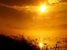 Au lever de soleil images libres de droits