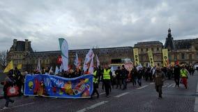 Au Logement DAL Protesters di Droit di associazione Fotografia Stock