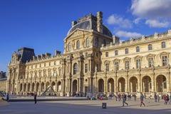 Au Louvre Image stock