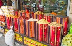 Au marché d'épice Photographie stock
