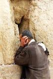 au mur pleurant (mur occidental) Photographie stock libre de droits