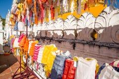 Au nord de la lampe de la Thaïlande dans le temple Photos stock