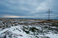 Au nord de la Norvège, Finnmark Photos stock
