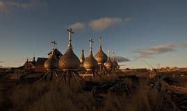 Au nord de la Russie. Images stock