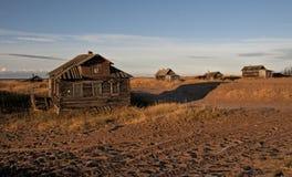 Au nord de la Russie. Image stock