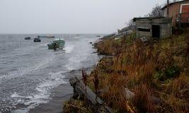 Au nord de Russia.Rivers.006 Images stock