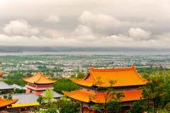 Au pied de Cangshan dans Erhai Image stock