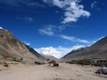 Au pied de Mt. Everest Photos stock