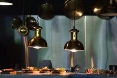 Au restaurant Photo libre de droits