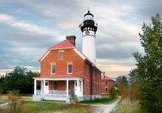 Au Sable Point Lighthouse Stock Photos