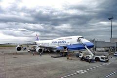 Au sol d'avions Photographie stock