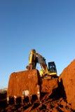 Au sol de construction Photos stock