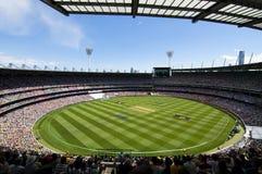 Au sol de cricket de Melbourne Image libre de droits