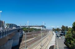 Au sol de cricket de Melbourne Image stock