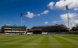 Au sol de cricket de Newlands Image stock