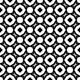 Au sol de dos de blanc de dezine de noir de Semless Triangles, résumé Photo libre de droits
