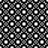 Au sol de dos de blanc de dezine de noir de Semless Triangles, résumé Photo stock