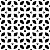 Au sol de dos de blanc de dezine de noir de Semless Triangles, résumé Image libre de droits