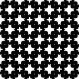 Au sol de dos de blanc de dezine de noir de Semless Triangles, résumé Photographie stock libre de droits
