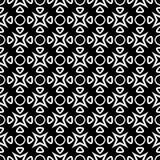 Au sol de dos de blanc de dezine de noir de Semless Triangles, résumé Image stock