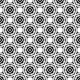 Au sol de dos de blanc de dezine de noir de Semless Triangles, résumé Photos libres de droits