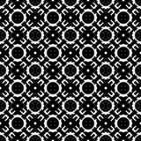 Au sol de dos de blanc de dezine de noir de Semless Triangles, résumé Images libres de droits