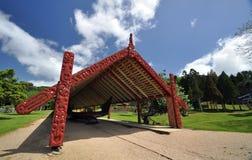 Au sol de Traité de Waitangi, Nouvelle-Zélande image libre de droits