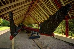 Au sol de Traité, Waitangi photo libre de droits