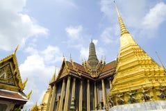 Au sol grands de palais - Bangkok, Thaïlande Photographie stock