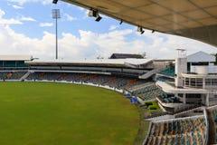Au sol ovale de cricket de Kensington Images stock