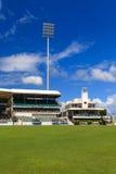 Au sol ovale de cricket de Kensington Image libre de droits