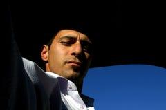 Au soleil - autoportrait Photo libre de droits