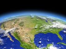 Au sud des Etats-Unis de l'espace illustration de vecteur