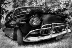 Au sujet du rétro Cubain car-2 Photographie stock libre de droits