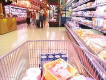 Au supermarché Images stock