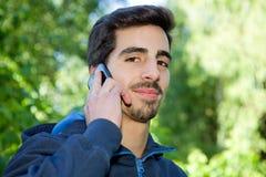 Au téléphone images libres de droits