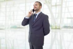 Au téléphone image libre de droits