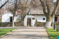 Au type séjour de maison-musée de mémoire du grand le Taman MY Lermontov russe de poète en septembre 1837 Image libre de droits