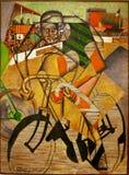 Au Vélodrome - Джин Metzinger стоковое изображение