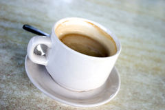 Au van de koffie lait stock foto's