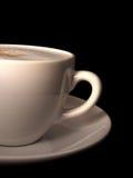 Au van de koffiebar lait royalty-vrije stock afbeelding