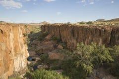 Aub kanjon Damaraland Royaltyfri Bild