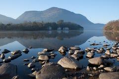 Aube au-dessus du lac 3 Image libre de droits