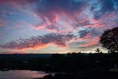 Aube d'Hawaï Photos libres de droits