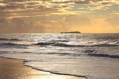 Aube d'océan Photographie stock