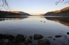 Aube de district de lac, Ullswater Photos libres de droits