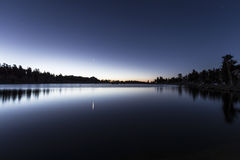 Aube de lac Cirque images libres de droits